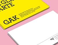 Corperate Design GAK Bremen