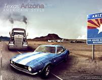 Texas Arizona AMERICAN STYLE