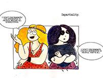 Strisce e vignette - Comic strips (ITA-ENG) 2015-16