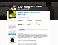 Start Your Own Business Landing Page - Entrepreneur