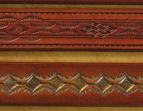 "Belts - 1.25"" width Casual Designs"