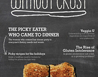Without Crust: A Magazine for Picky Eaters