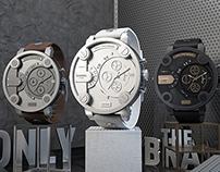 Diesel // Creative CGI Visuals & Ads // Watch Series