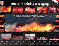 Calendars CSKA Sofia