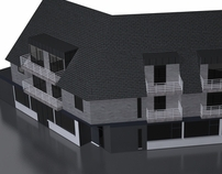 Visualisation of a building
