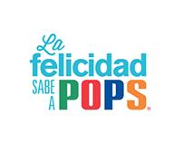 La felicidad sabe a Pops: Helados Pops CR.