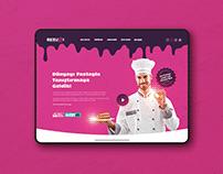 Beşüzzi Cake - Landing Page