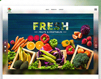 Website Design and Templates - SND - Fruits And Veggies