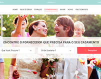Wedding Suppliers Website