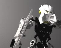 3D model of a bionicle