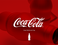 Coca Cola - Case Bottle and Cap