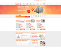 Hosting Company layout design
