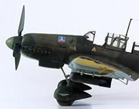 Junkers Ju87D-5, Stuka Dive-Bomber
