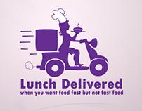 Lunch Delivered | Branding