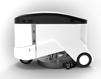 SPAZIO |  Multifunctional Sweeping-Washing Robot