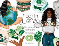 Earth Love Clipart