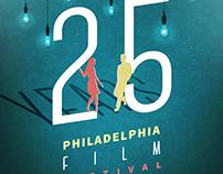 25th Philadelphia Film Festival Poster Art