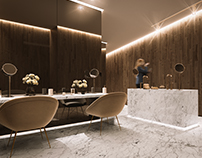 Lomas Country Club bathrooms.