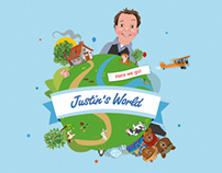 Justin's World - Apps