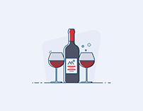 First week of Dribbble Daily Illustration Challenge.