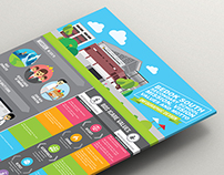 Bedok south secondary school infographic design