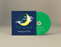 Coldplay Parachutes CD Cover Redesign