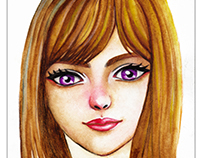 Watercolor 5 - Learn to Draw Face