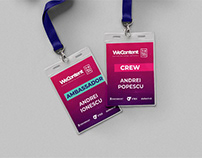 WeContect Conference- Visual Identity