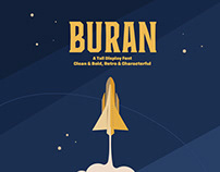 Buran - Display Font