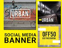 Social Media Banner ads - Streetwear edition