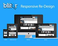 Blitzr Music | UI Redesign