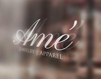 Amê Jewelry And Apparel Logo