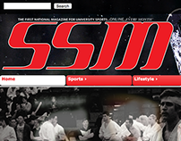 Student Sports Magazine - Web Design