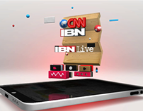 CNN-IBN iPad promo