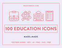 Line Icons – Education