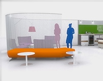 ARCHIPOD | Casual seating and coffee area