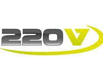 220V logo