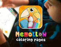 Memollow - Coloring Pages