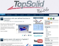 TopSolidBlog website