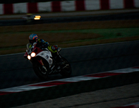 Night Session. 24H Motociclisme Montmeló 2011
