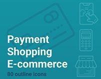 Payment, Shopping, E-commerce Iconset