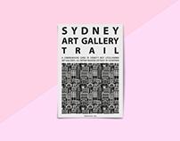 Sydney Art Gallery Trail (Print Zine)