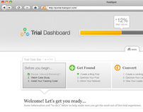 HubSpot Free Trial Dashboard
