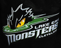 Lake Erie Monsters St. Patrick's Day Jersey 2012-13