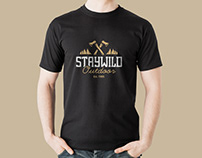 Free Black T-Shirt Mockup PSD