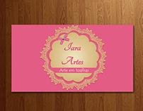 Cartão de visita - Iara Artes