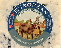European Farmhouse Vintage Style Labels