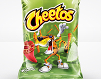 Frito-Lay Cheetos Packaging