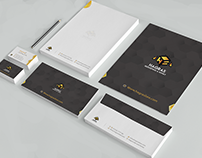 Bee and honey brand identity