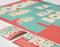 Typography is a festival by beatbox